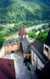 Castle, Orava, Slovakia. Medieval castle in Orava, Slovakia royalty free stock photo