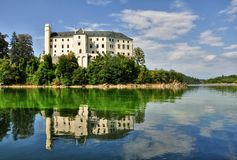 Castle Orlik Royalty Free Stock Images