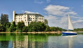 Castle Orlik Stock Image
