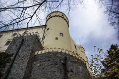 Castle Orlik Royalty Free Stock Photo