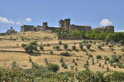 The castle of Oropesa Royalty Free Stock Photography