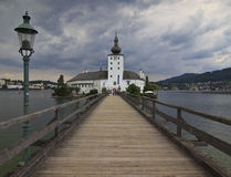 Castle Ort - Traunsee Royalty Free Stock Photography