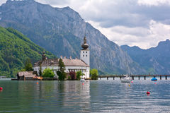 Castle Ort, Traunsee Stock Images