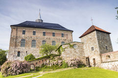 Castle in Oslo, Norway Royalty Free Stock Photos
