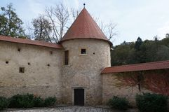 Castle Otocec, Σλοβενία Στοκ Εικόνες