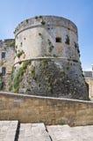 Castle of Otranto. Puglia. Italy. The Aragonese Castle of Otranto. Puglia. Italy Stock Image