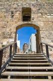 Castle of Otranto. Puglia. Italy. The Aragonese Castle of Otranto. Puglia. Italy Royalty Free Stock Images
