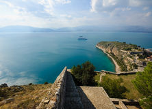 Castle Palamidi, Nafplio, Greece Stock Photography