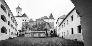 Castle Palanok near Mukachevo, Ukraine. Medieval stone castle Palanok near Mukachevo, Ukraine Stock Image