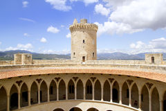 Castle at Palma of Mallorca Stock Photography