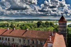 Castle Panemune stock photography
