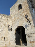Castle Papa Luna Peniscola, Spain Stock Photo