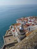 Castle Papa Luna Peniscola, Spain Royalty Free Stock Image