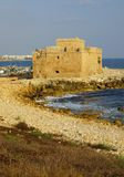 Castle of Paphos Stock Photography