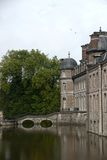 Castle and park of Beloeil in Belgium Royalty Free Stock Image