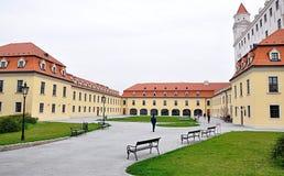 Castle and park, in Bratislava, Slovakia, europa Stock Image