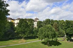 Castle park, Ludwigsburg Stock Image