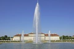 Castle and park Schleißheim near Munich, Bavaria Royalty Free Stock Photo