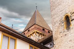 Free Castle. Part Of. Medieval. Historical. Bricks. Old Stock Image - 133135751