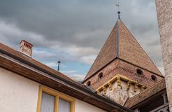 Free Castle. Part Of. Medieval. Historical. Old. Bricks Stock Images - 133135834
