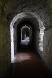 Castle Passageway. Passageway at Dover castle, England Royalty Free Stock Photography