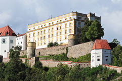 Castle Passau Stock Photo