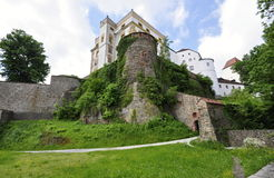 Castle in Passau Royalty Free Stock Image