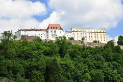 Castle in Passau Royalty Free Stock Images