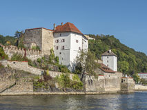 Castle of Passau Royalty Free Stock Images