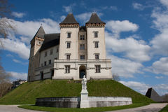 The castle of Pau Stock Image