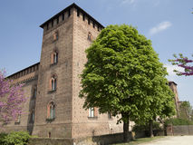 Castle in Pavia, Italy Stock Image