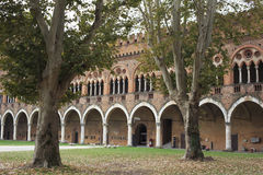 The Castle of Pavia Stock Photo
