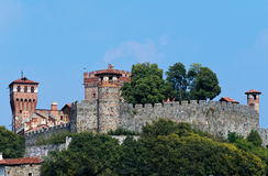 Castle of Pavone Canavese Royalty Free Stock Photo