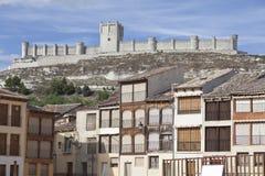 Castle of Peñafiel Stock Photography