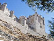Castle of Peñafiel Stock Photo