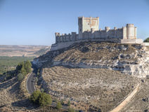 Castle of Peñafiel Royalty Free Stock Photos