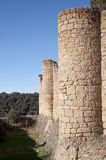 Castle of Pedraza Stock Image