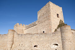 Castle of Pedraza Stock Photos