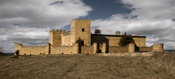 Castle of Pedraza Stock Photos
