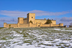 Castle of Pedraza, Segovia (Spain) Royalty Free Stock Image