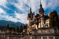 Castle peles. History  romania brasov Stock Photos
