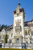 The Castle Peles, own by Regele Mihai (King Michael) of Romania, now works as museum. Sinaia. Romania Royalty Free Stock Photography
