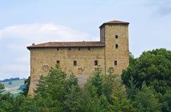 Castle of Pellegrino Parmense. Emilia-Romagna. Italy. Stock Image