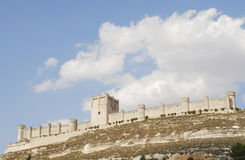 The castle of Penafiel Royalty Free Stock Photos