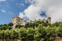 Castle Penafiel Stock Photography