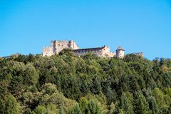 Castle Pergine Royalty Free Stock Photography