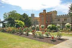 Castle pergola garden Stock Image