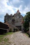 Castle Pernštejn Stock Photo