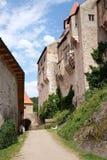 Castle Pernštejn Royalty Free Stock Image