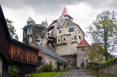 Castle Pernshtein. Czech republic Stock Images